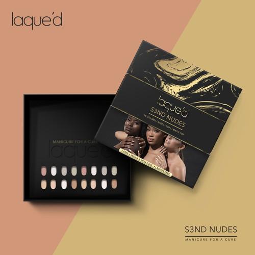 Premium Cosmetics Packaging Design