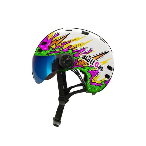 Cheerful Helmet Design