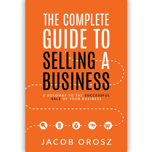 Book cover for selling a business.