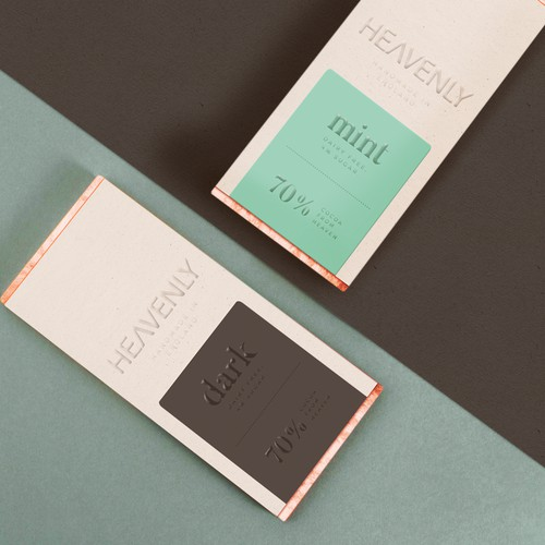 Minimalist Chocolate Packaging