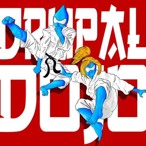 Drupal Dojo fighters