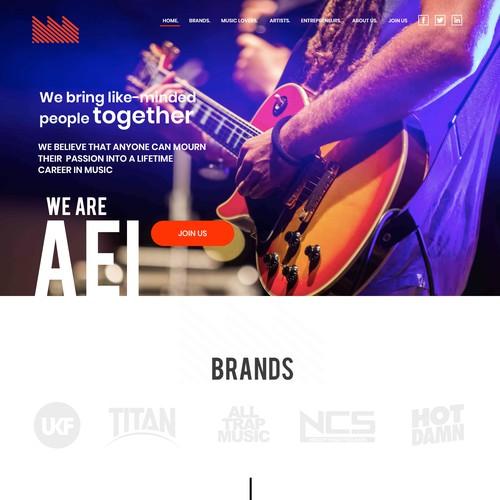 AEI Group website design