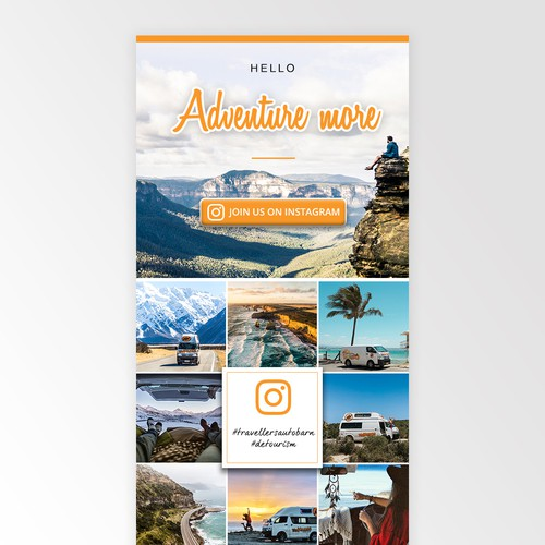 Newsletter Design - Travel