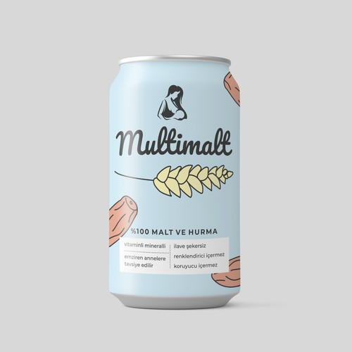 Multimalt Beverage Can Design
