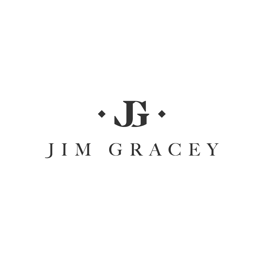 Classically stylish and simply elegant logo for clothing label.
