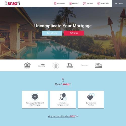Bank Mortgage Lender Website