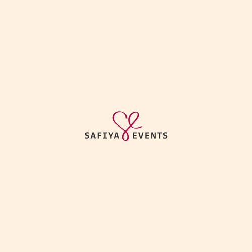 Logo concept for Safiya Events