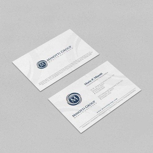 Revamp a Business Card for Minotti Group