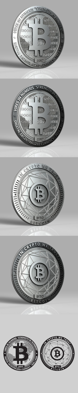 Design an Actual Physical Bitcoin Coin!