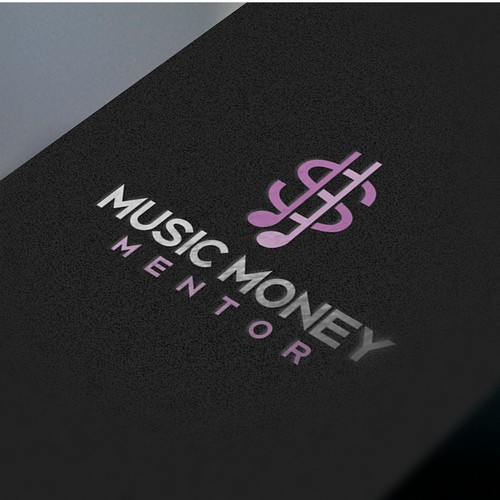 Logo for music money mentor