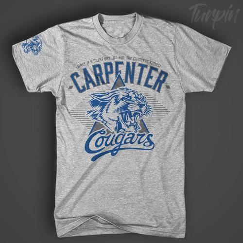 Carpenter Cougars Tee 1