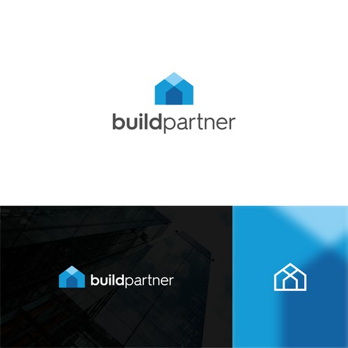 modern logo for buildpartner