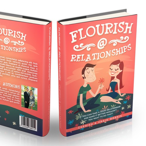 Create an awesome & inspiring book cover for couples to create a better relationship.