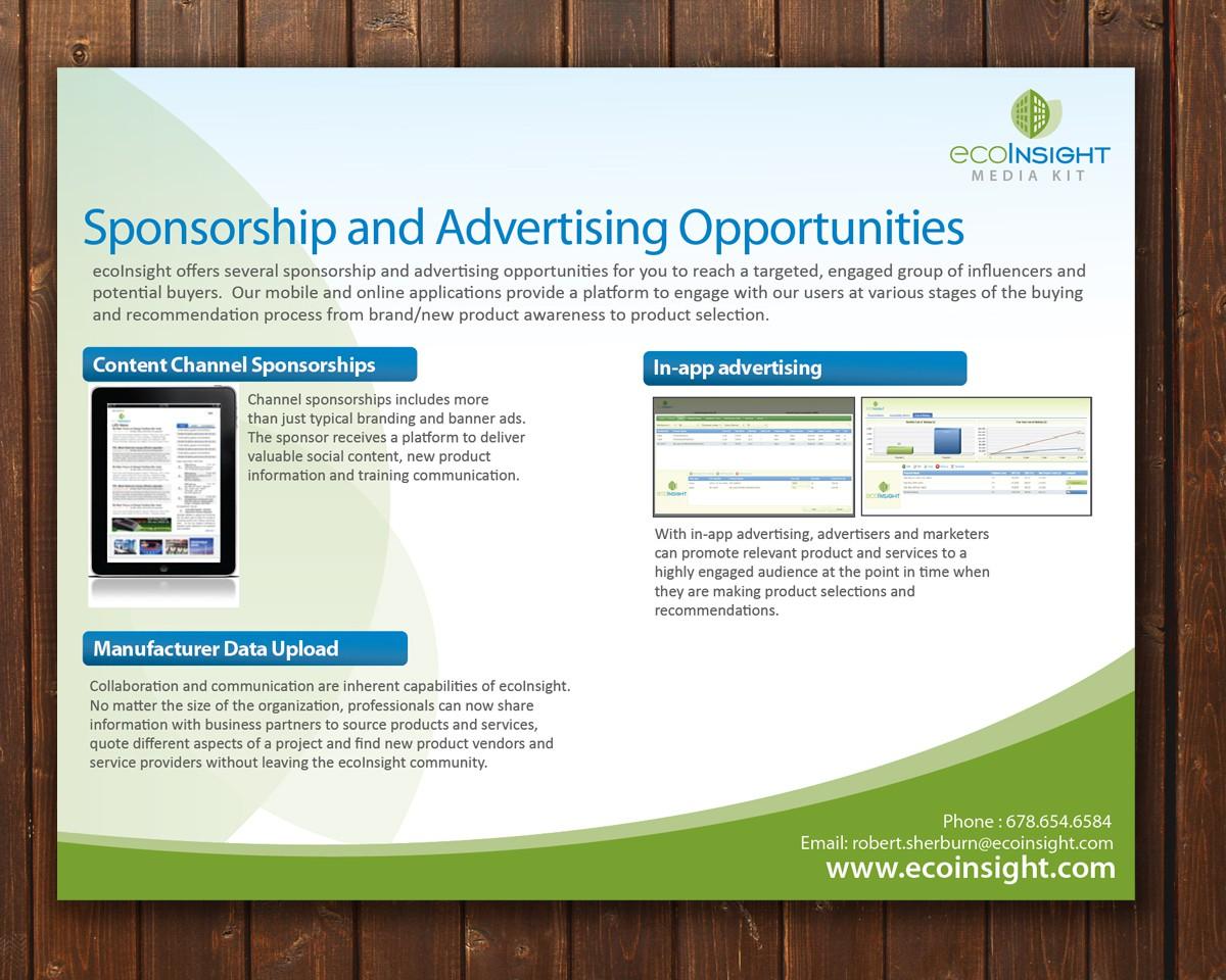 Create the next media kit for ecoInsight