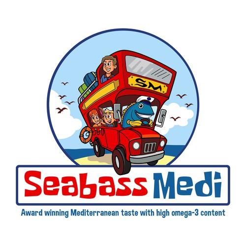 Logo concept for Seabass medi