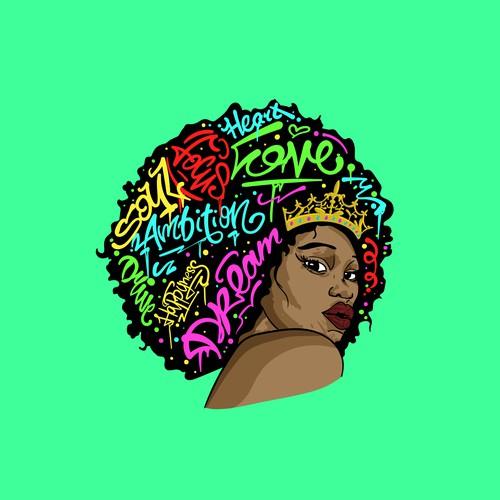 Pretty Afro Gurl