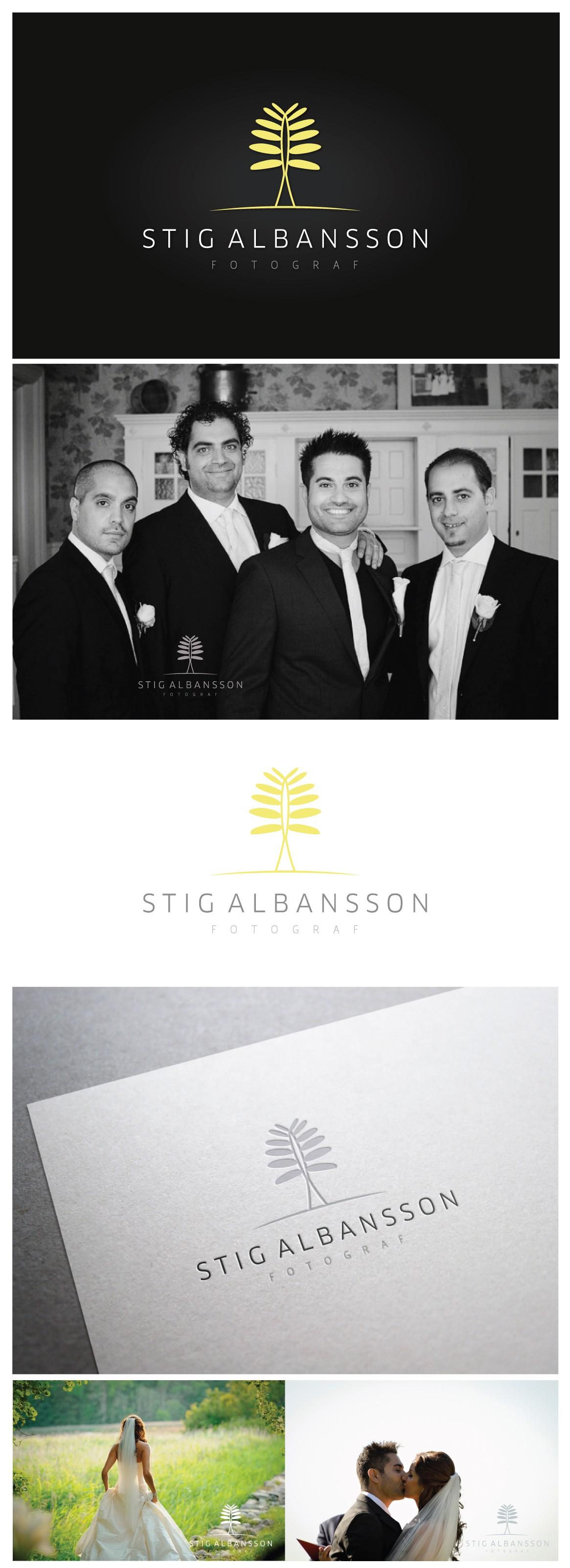 Create the next logo for Stig Albansson (photographer - fotograf)