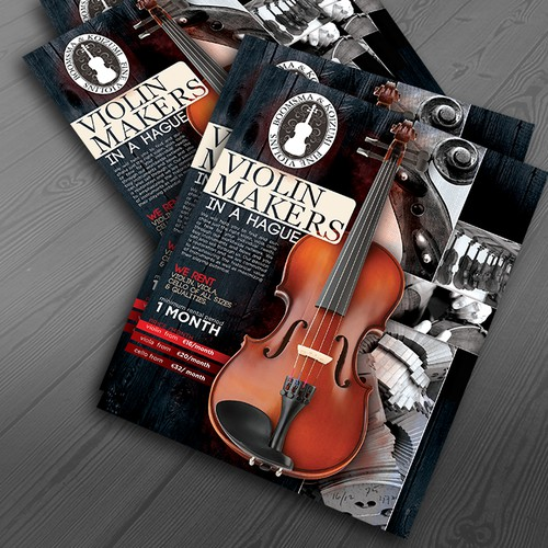 Violin Flyer design