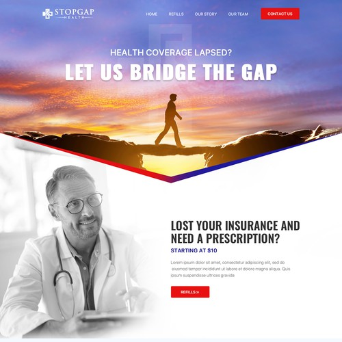 Redesign exciting telehealth site!
