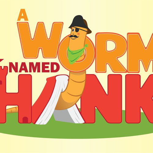 A WORM NAMED HANK LOGO