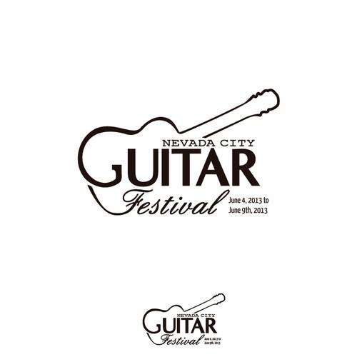 Nevada City Guitar Festival needs a new logo