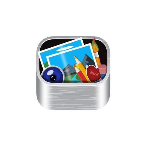 Logo concept for photo editing app