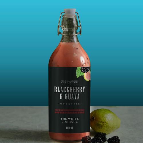 The White Boutique- Juice label