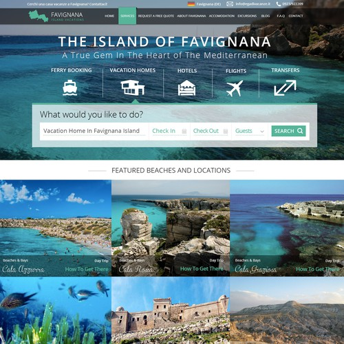 Sicily Tourism Website
