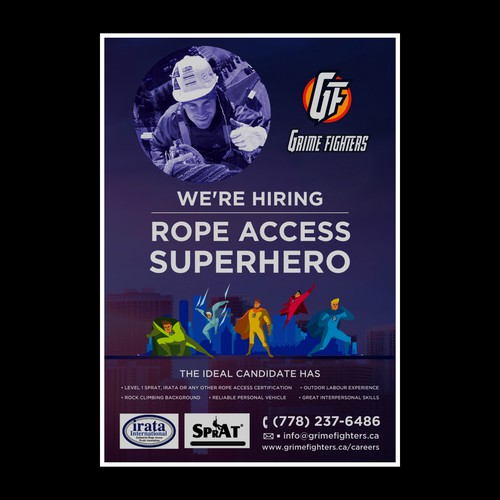 Rope Access Poster Design