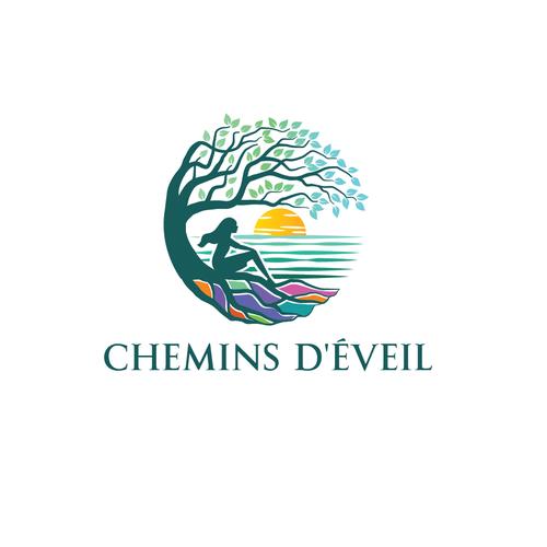 "logo for ""chemins d'éveil"""