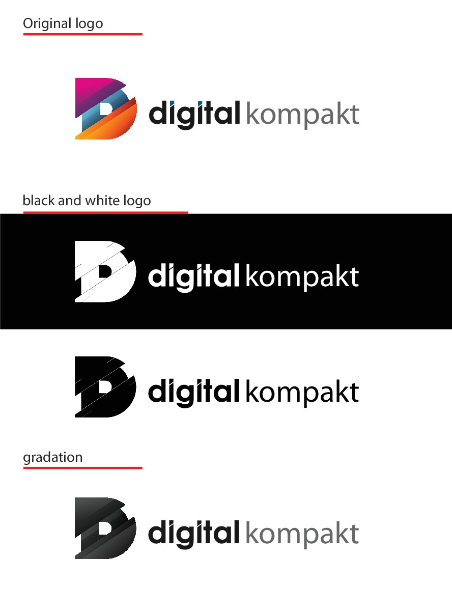 "Design sth. beautiful for our magazine ""digital kompakt"""