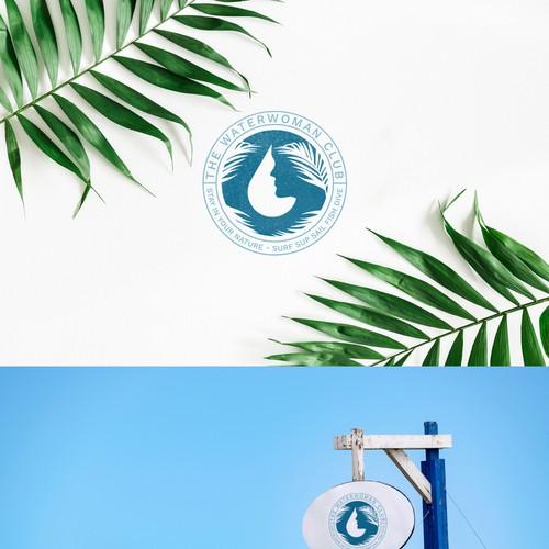 Water Woman Logo