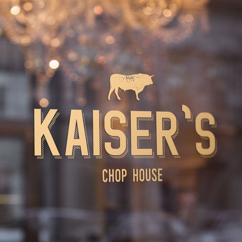Logo Design for Chef Owner Chop House/ Nationally known chef(s)