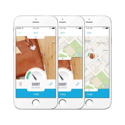 Tracking App for Swift Finder
