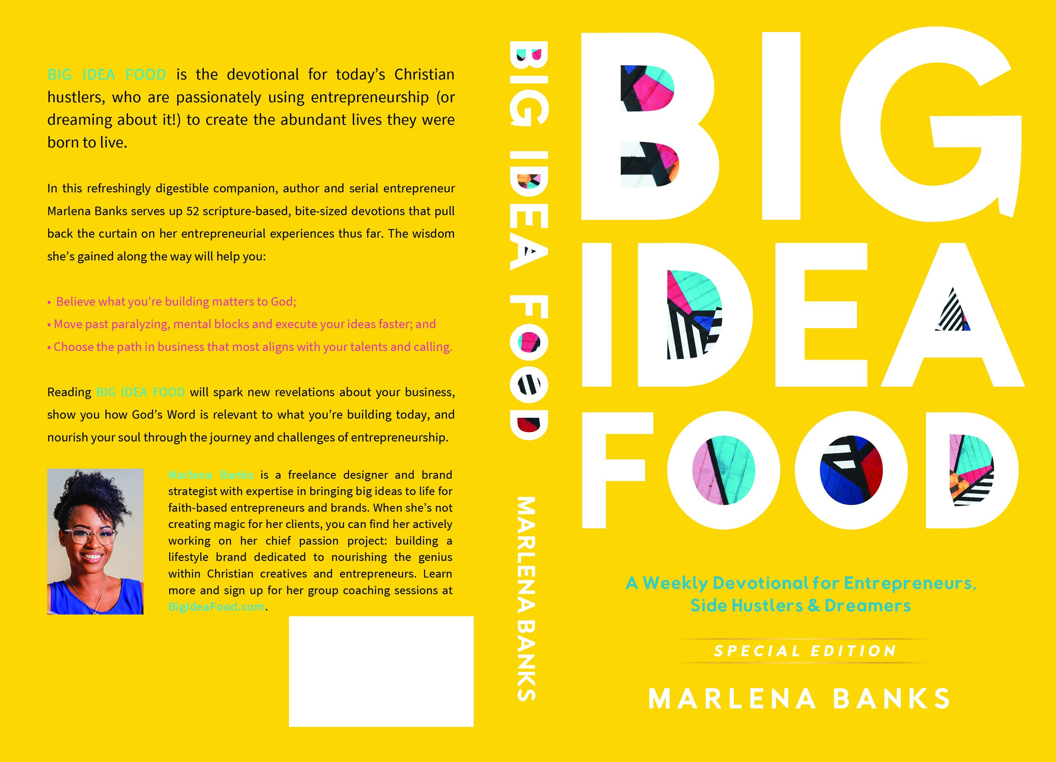 Big Idea Food needs a dope book cover design