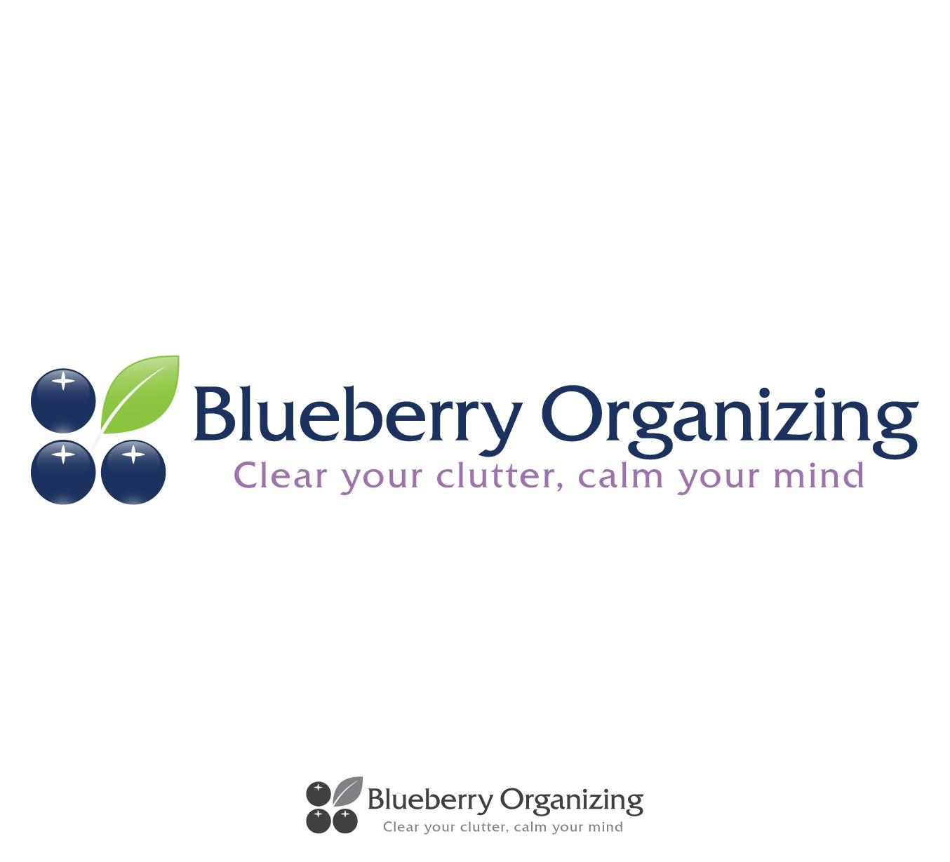 Blueberry Organizing needs a new logo