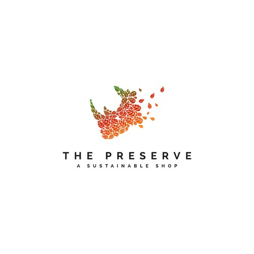 Winning logo concept for The Preserve