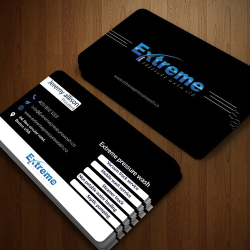 Extrime business card