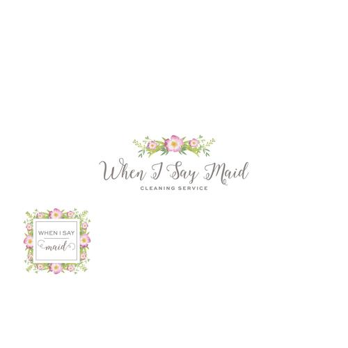 When I Say Maid logo