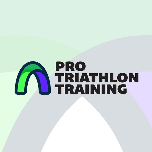 Unused modern Logo approach for Triathlon