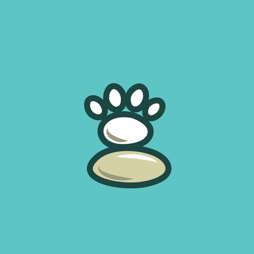 Logo for a product which relieves anxiety in pets and domestic animals