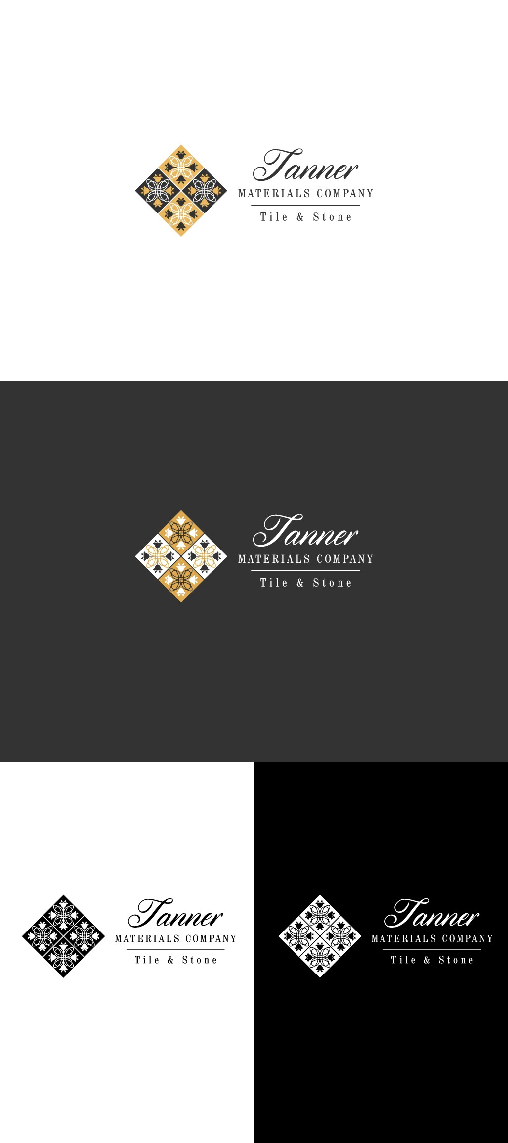 Tanner Materials Company needs a simple, soft, and elegant logo