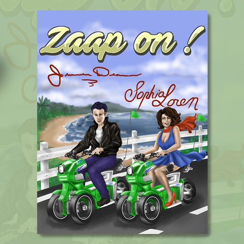 Man and Woman riding Zapp Cycles side by side