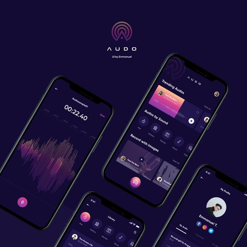Mobile App Design for AUDO