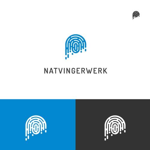 Wet Fingerprint Logo