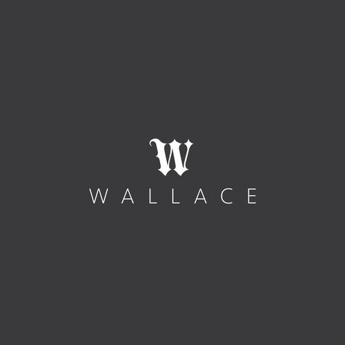 Minimalistic logo for Wallace Publishing