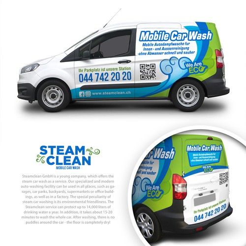 Wrap Design for Steam Cleaning & Maintenance