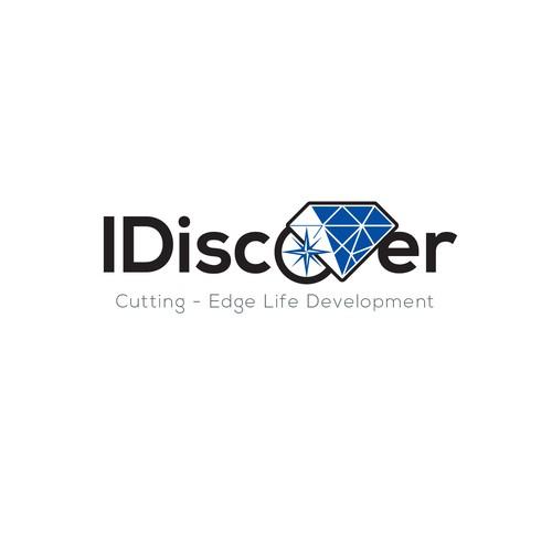 Idiscover logo concept