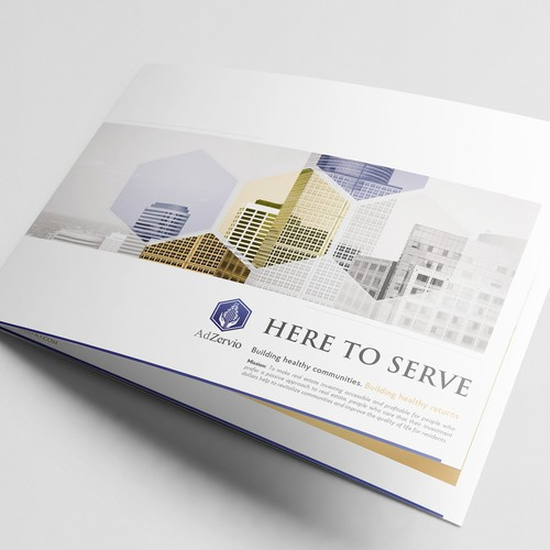 Brochure for AdZervio