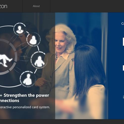 Circlezon needs a creative, interactive landing page